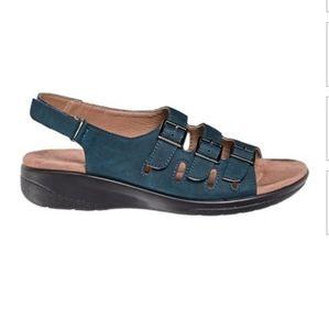 Bristol Navy Strappy Sandals New!